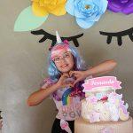 Festa Unicornio feita pela leitora Debora 2
