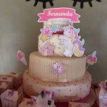 Festa Unicornio feita pela leitora Debora 42
