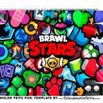 Fundo Caixa Joystick Brawl Star
