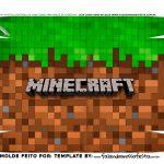 Fundo Caixa Joystick Minecraft
