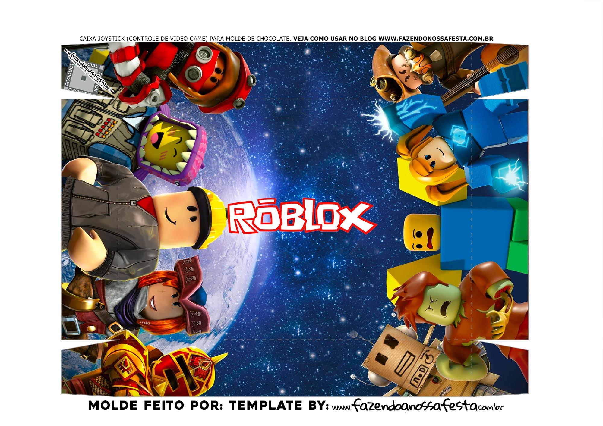 Fundo Caixa Joystick Roblox