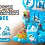 Kit Festa Astronauta Cute