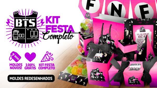 Kit Festa BTS para imprimir