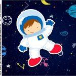 Molde Caixa Acrilica Astronauta