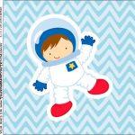 Molde Caixa Acrilica Astronauta Cute