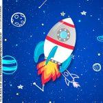 Rotulo Caixa Acrilica Astronauta