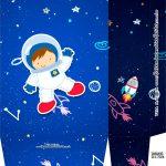 Sacolinha Surpresa Kit Festa Astronauta