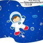 Topper Bandeirinha Astronauta