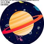 adesivo mini baleiro Kit Festa Astronauta
