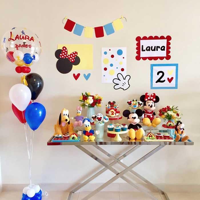 50 Festa em Casa Turma do Mickey