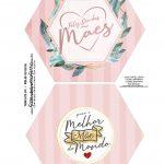 Caixa Explosao Dia das Maes Floral Rosa 1