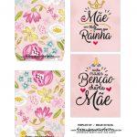 Caixa Explosao Dia das Maes Floral Rosa 3