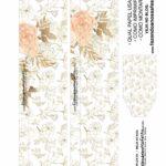 Caixa Explosiva Dia das Maes Floral Dourado 2