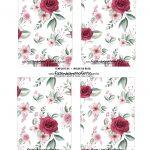 Caixa Explosiva Dia das Maes Floral Vermelho 4