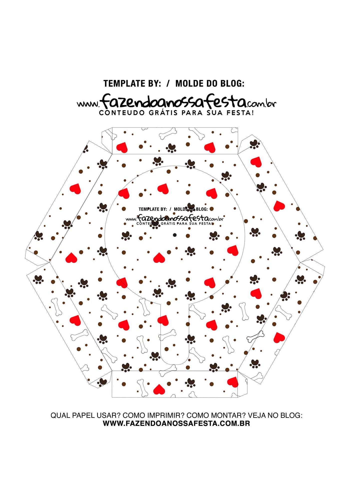 Caixa Explosiva Dia das Maes de pet 7
