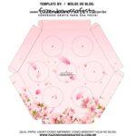 Caixa Explosiva Dia das Maes floral cerejeira 6