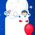 Convite Virtual Astronauta