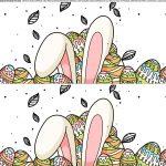 Faixa lateral para bolo de Pascoa