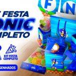 Kit Festa Sonic para Imprimir