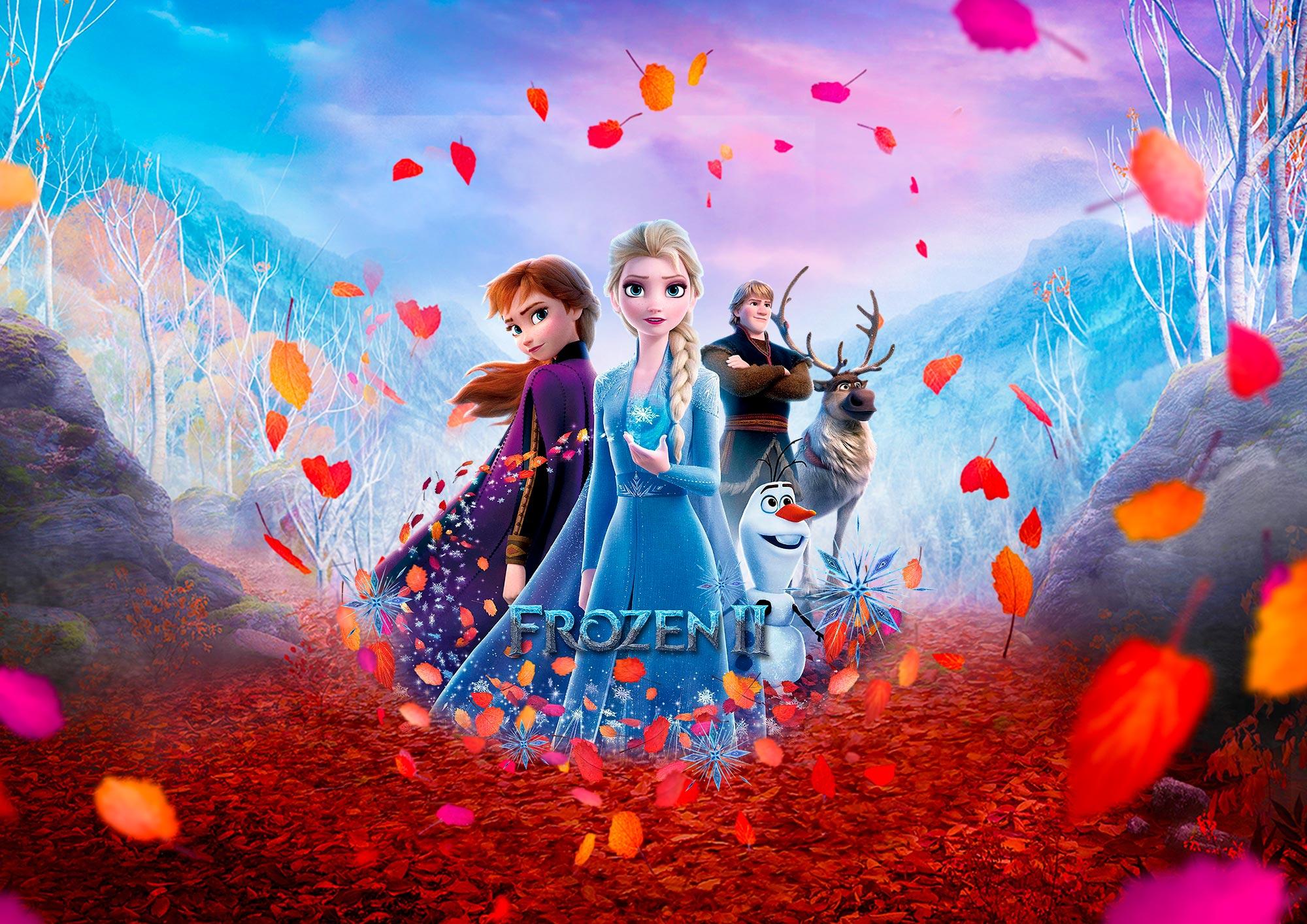 Kit Painel Quadrinhos Frozen 2 7