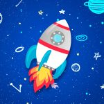 Kit Quadrinhos para Festa Astronauta