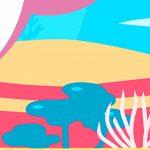 Painel Baby Shark Rosa 11