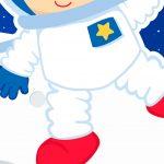 Painel Redondo Astronauta 11