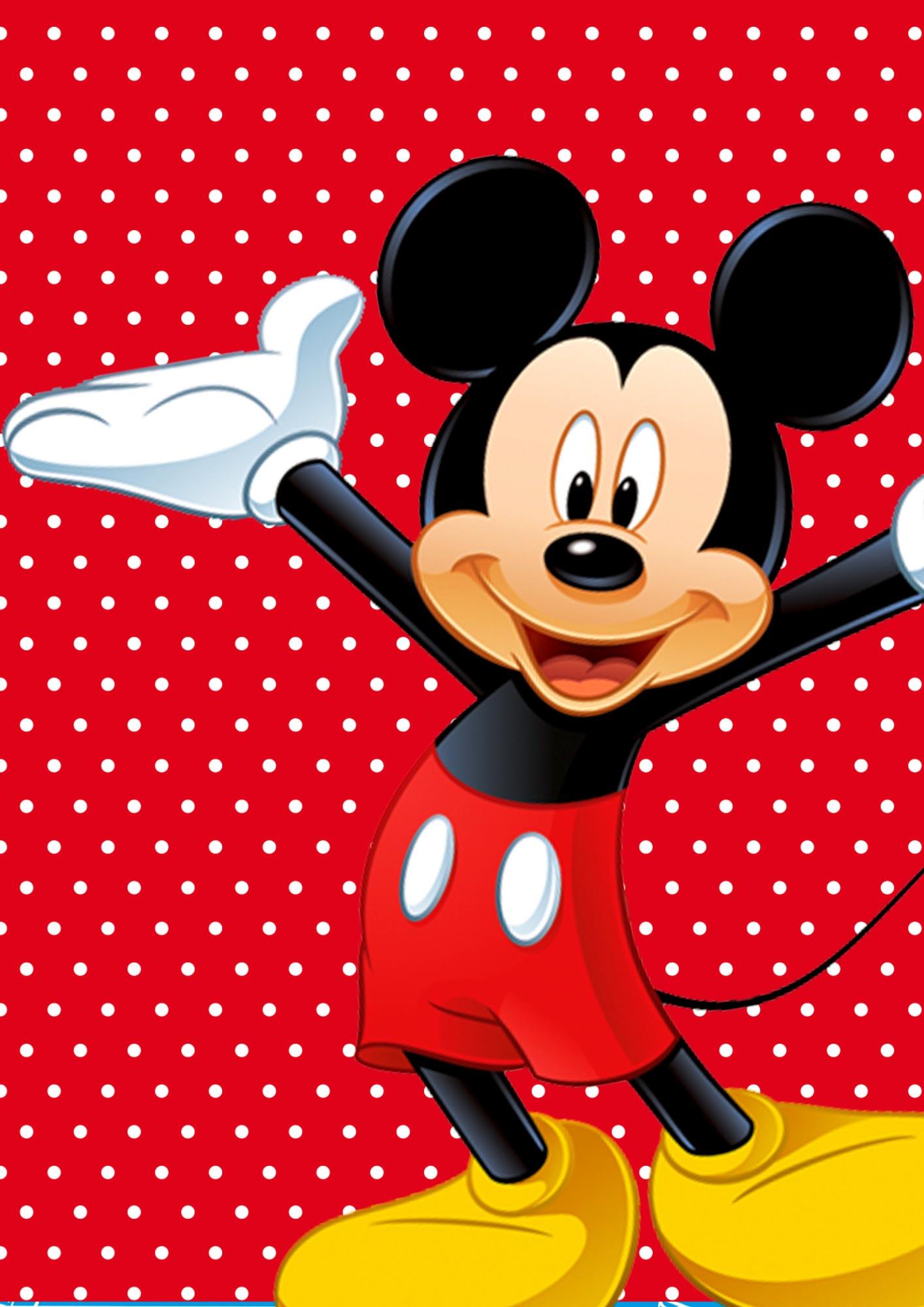 Quadrinho festa Mickey 1