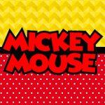 Quadrinho festa Mickey 2