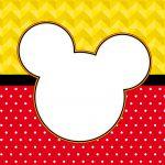 Quadrinho festa Mickey 3