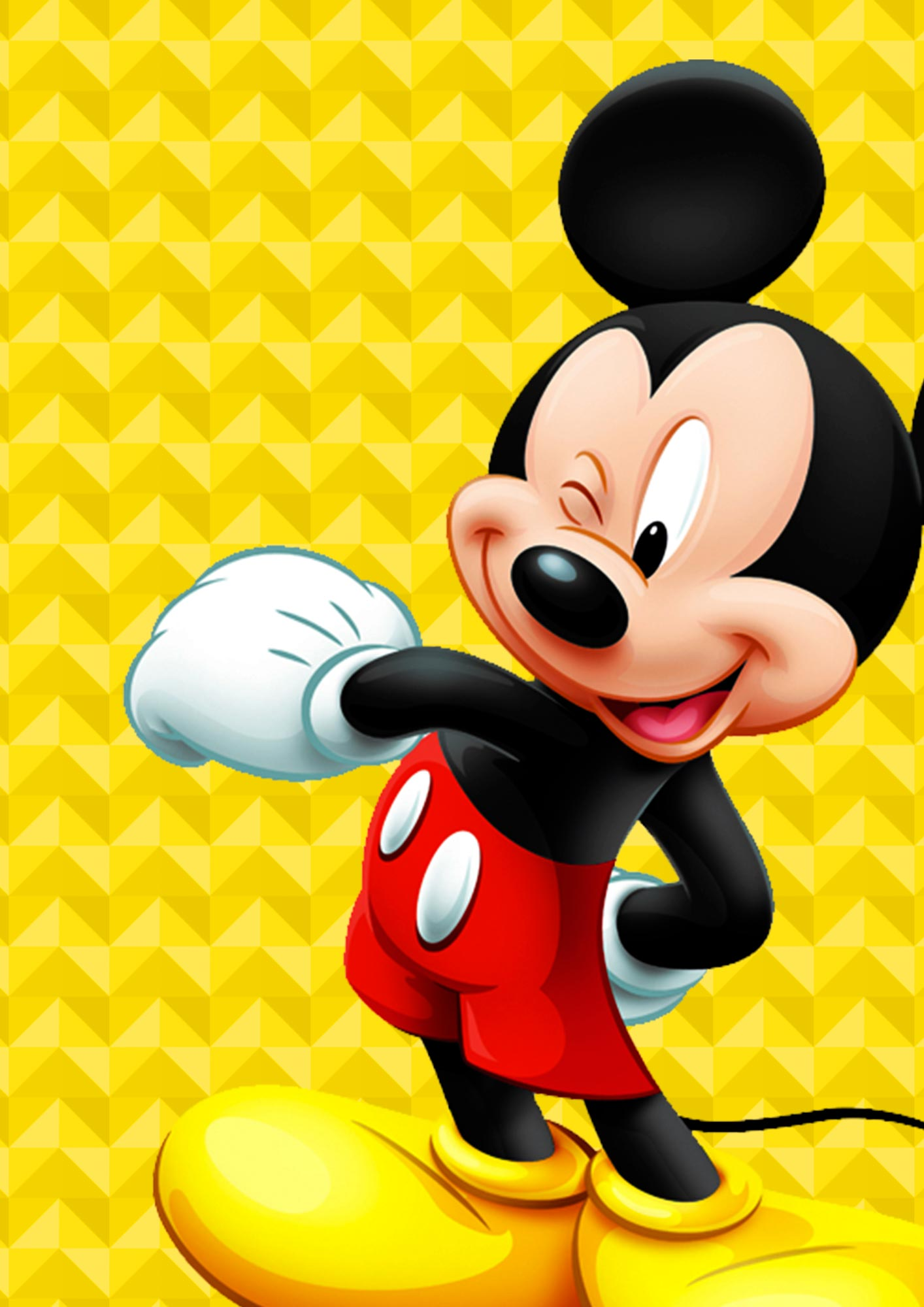 Quadrinho festa Mickey 4