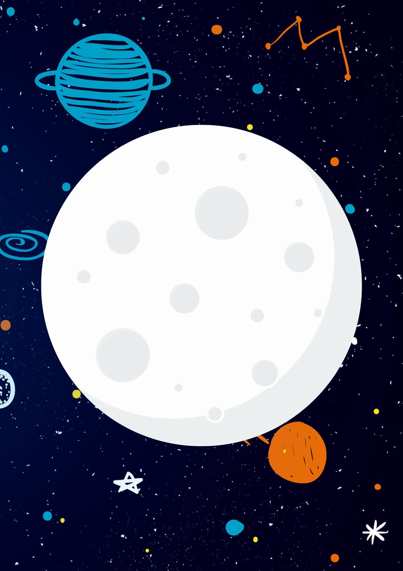 Quadrinho para festa Astronauta 3