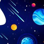 Quadrinho para festa Astronauta 5