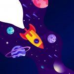 Quadrinho para festa Astronauta 9