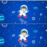 Saia de Bolo Astronauta 2