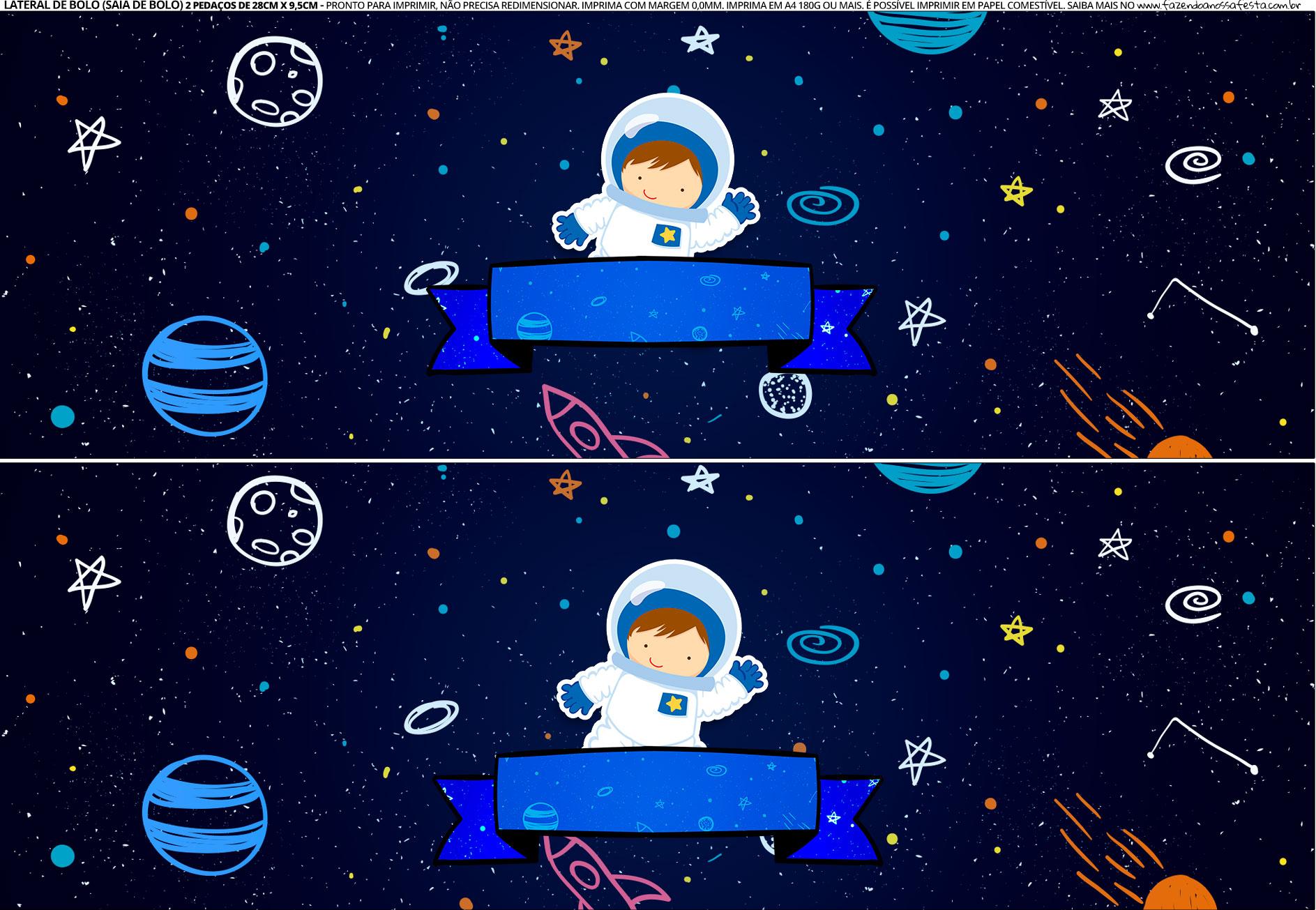 Saia de Bolo Astronauta 3