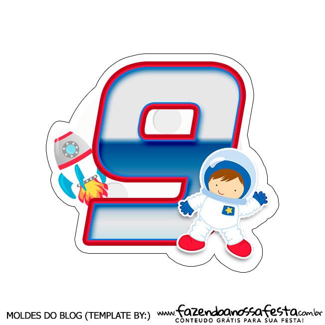 Topo Astronauta 9