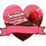 Topo de bolo Mae Sensacao