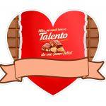 Topo de bolo Dia das Maes Talento 2