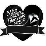 Topo de bolo Mae Diamante Negro
