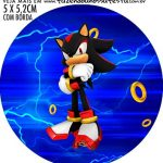 Adesivo ioio Kit Festa Sonic
