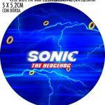 Adesivo para latinhas Sonic