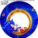 Adesivo para tubetes Sonic