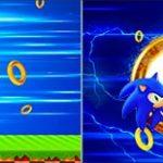 Bandeirinha de Dois Lados Sonic