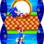 Caixa Almofada bolsinha Sonic