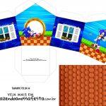 Caixa Casinha Sonic