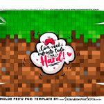 Caixa Controle Dia dos Namorados Minecraft fundo