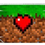 Caixa Controle Dia dos Namorados Minecraft tampa