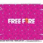 Caixa Controle Video Game Dia dos Namorados Freefire fundo