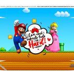 Caixa Controle Video Game Dia dos Namorados Super Mario tampa
